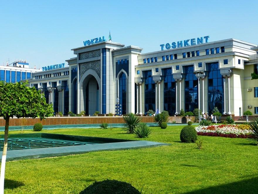 узбекистан ташкент вокзал